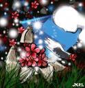 piedras flores