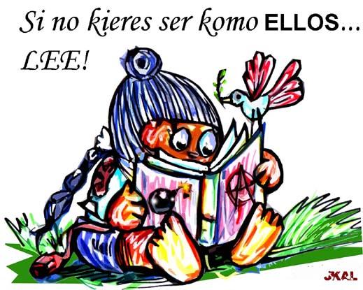 Ramonita leyendo
