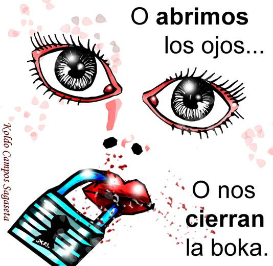 Abre los ojos, abre los ojos, abre los ojos...